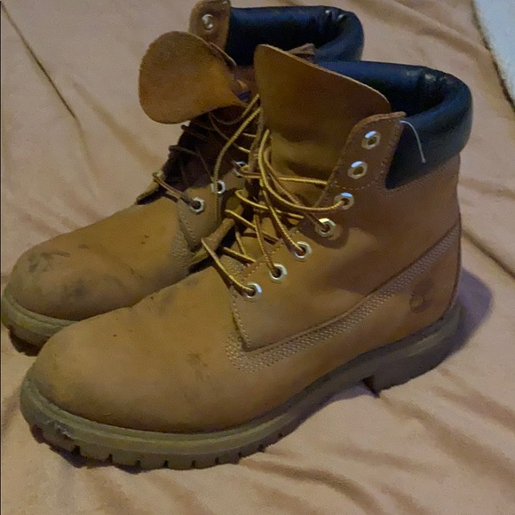 Timberland Shoes   Mens Used Timbs Size